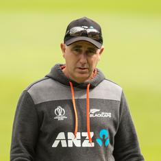India's low scores were bit of a surprise but was due to the pressure we put, says New Zealand coach