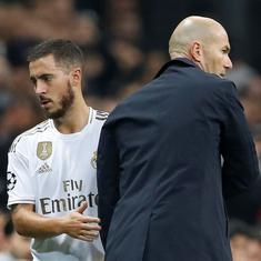 Real Madrid hope for Hazard's return against Man City but Zidane says team can win without him