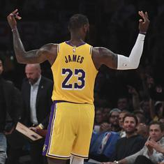NBA Finals: Lakers eye record-equalling 17th crown while Heat remain defiant