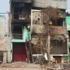 In photos: School and mosque burnt in Delhi's Mustafabad area, protest sites vandalised
