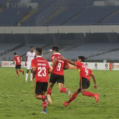 I-League: East Bengal salvage draw against Churchill Brothers, Aizawl's late show stuns Real Kashmir