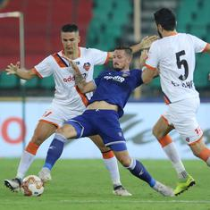 ISL: Defensive errors against Chennaiyin FC leave FC Goa with an uphill task in return leg of semis