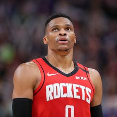 NBA wrap: Westbrook stars as Rockets beat Celtics in overtime, Grizzlies stun Lakers