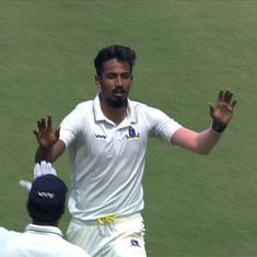 Ranji Trophy: Bengal pacer Porel credits mentor Dinda after claiming fifer in semis versus Karnataka