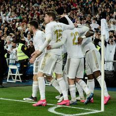 La Liga: Vinicius, Diaz goals help Real Madrid defeat Barcelona in Clasico to regain top spot