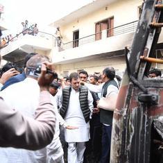 Delhi violence: Congress team makes first visit, Rahul Gandhi says hate won't benefit anyone
