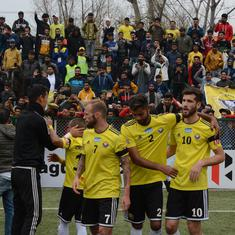 I-League: Real Kashmir rise to third with win over Neroca, TRAU see off Churchill Brothers