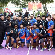Kabaddi Nationals: Indian Railways beat Services to clinch gold for second straight time