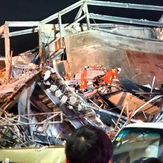 China: At least 10 killed after coronavirus quarantine hotel collapses in Quanzhou