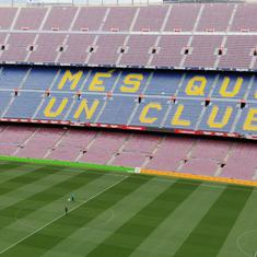 Coronavirus: Barcelona-Napoli Champions League match to be played without fans at Camp Nou