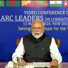COVID-19: 'Prepare but don't panic' our mantra, Modi tells SAARC leaders; India confirms 107 cases