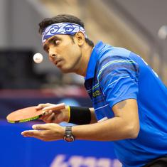 Table Tennis: Indian challenge in Doha ends after Sharath Kamal loses in pre-quarterfinals