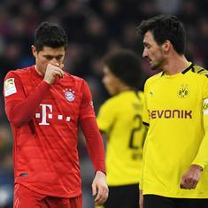 Coronavirus: Germany's Bundesliga could resume season from May 9 with matches behind closed doors