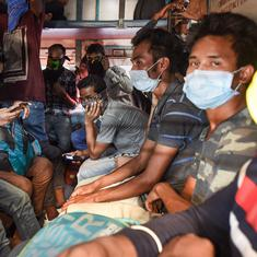 As Covid-19 pandemic hits India's daily-wage earners hard, some leave city for their home towns