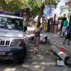 'Sanitise and stay indoors': Mumbai Police is using megaphones to instruct residents