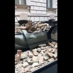 Watch: Powerful earthquake strikes Zagreb in Croatia, causes widespread destruction