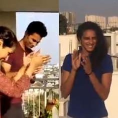 Watch: Sportspersons join in on the applause on day of curfew in India over coronavirus outbreak