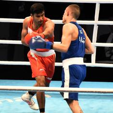 Boxing: After qualifying for the Olympics in thrilling fashion, Manish Kaushik eyes further glory