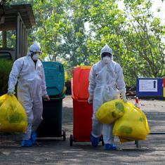 कोरोना वायरस से चल रही लड़ाई सही कचरा प्रबंधन के बिना भी नहीं जीती जा सकती