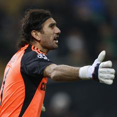 Former Barcelona goalkeeper Rustu Recber hospitalised after testing positive for coronavirus