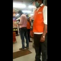 Watch: Naga migrants were not allowed in to buy groceries from this store in Karnataka