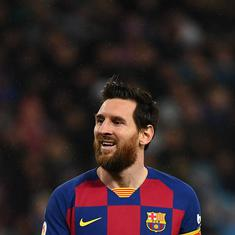 Coronavirus: Messi says Barca players will take pay cut and contribute for club, slams board again