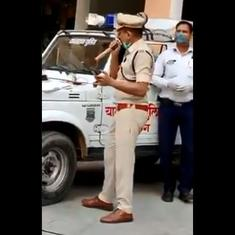 'Ghar pe hi rehna hai': Police officer sings social distancing version of 'Ek pyaar ka nagma hai'