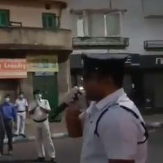 Kolkata Police sing version of hit song 'Bela Bose' and 'We Shall Overcome' to send lockdown message