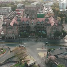Lockdown: Aerial survey of Mumbai without people or traffic on the streets shows surreal sights
