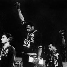 Pause, rewind, play: Iconic 'Black Power' salute at 1968 Olympics remains an inspirational moment