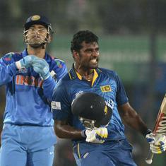 Watch: Sangakkara, Jayawardene sign off in style as Sri Lanka beat India to win 2014 ICC World T20