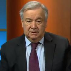 Coronavirus pandemic threatens peace, risks new conflicts, says UN chief Antonio Guterres