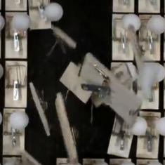 Watch: This video uses ping pong balls and traps to convey the importance of social distancing