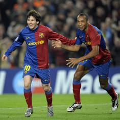 When Lionel Messi was star-struck: Barcelona star recounts meeting Theirry Henry in dressing room