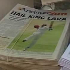 Watch: When Brian Lara became the first and only batsman in Tests to score 400 runs in one knock