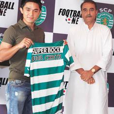 The head coach told me I was not good enough: Sunil Chhetri on struggles at Sporting Lisbon