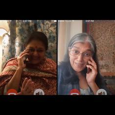 Watch: When Hansa from 'Khichdi' called Maya from 'Sarabhai Vs Sarabhai' in 2020