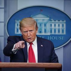 Covid-19: Donald Trump signs executive order suspending immigration to 'protect' American workers