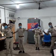 Watch: Police on coronavirus duty in Assam's Nagaon perform Bihu dance during a break