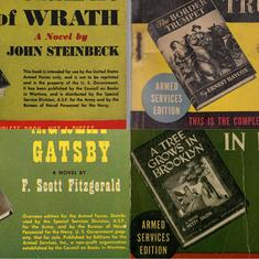 How a new paperback format for novels made the books market explode after World War II