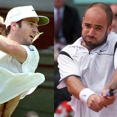 Pause, rewind, play: Andre Agassi's two greatest triumphs and the rollercoaster in between