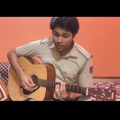 Watch: Delhi Police officer sings 'Teri Mitti' from Akshay Kumar's movie to honour Covid-19 heroes