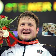 Against all odds: When German weightlifter Steiner fulfilled a golden promise to his late wife