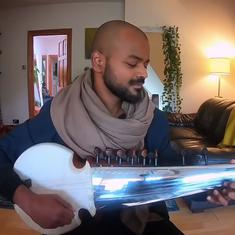 Watch musician Soumik Datta's sarod tribute to Irrfan with this number from 'Piku'