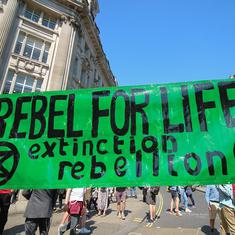 You don't have to hit the streets to support a rebellion. You can also do it by doing nothing
