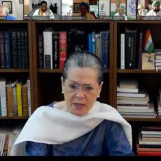 Covid-19: Sonia Gandhi questions Centre's strategy on lockdown, asks for a plan of action