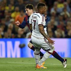 Watch: When Lionel Messi floored Jerome Boaeteng as Barcelona marched towards another treble