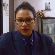 Watch: This woman is winning fans with her imitation of television anchor Arnab Goswami