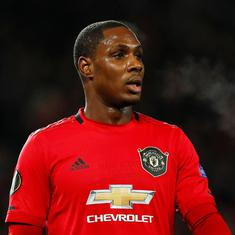 Football: Odion Ighalo's loan deal with Manchester United extended till January 2021