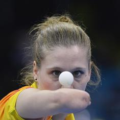 Natalia Partyka, the one-armed table tennis player, who refused to be bogged down by a disability